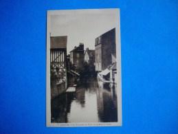 LISIEUX   -  14  -  La Touques Au Pont De La Rue De Caen  -   Calvados  - - Lisieux