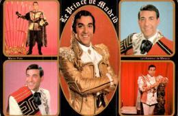 HOMMAGE A LUIS MARIANO LE PRINCE DE MADRID CPM VUES MULTIPLES PAS CIRCULEE - Chanteurs & Musiciens