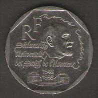 FRANCIA 2 FRANCHI 1998 50 TH ANNIVERSARY DECLARATION OF HUMAN RIGHTS - Francia