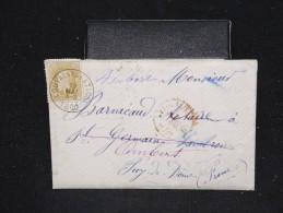 BELGIQUE - Enveloppe Pour La France En 1880 - A Voir - Lot P12484 - 1869-1883 Leopold II