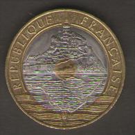 FRANCIA 20 FRANCHI 1993 BIMETALLICA - Francia