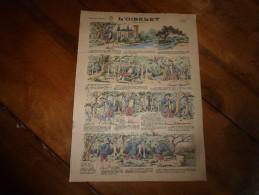 Vers 1900 Imageries Réunies De Jarville-Nancy     L'OISELET   ( Conte Breton)           Planche N° 1506 - Vieux Papiers