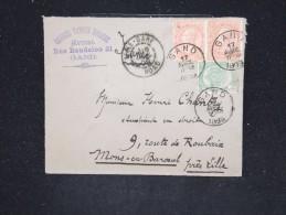 BELGIQUE - Enveloppe Pour La France En 1899 - A Voir - Lot P12493