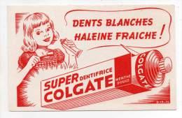 Buvard - Super Dentifrice Colgate Menthe Douce - C