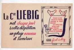 Buvard - La Compagnie Liebig - Sopas & Salsas