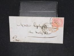 ITALIE - Lettre ( Avec Texte ) De Milan Pour Paris En 1864 - A Voir - Lot P12495 - 1861-78 Victor Emmanuel II.