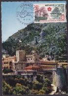 Monaco - Carte Maximum - Palais Princier - Cartes-Maximum (CM)