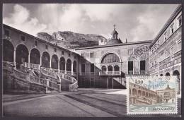 Monaco - Carte Maximum - Palais - Cartes-Maximum (CM)