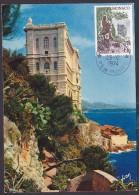 Monaco - Carte Maximum - Le Musée Océanographique - Cartes-Maximum (CM)