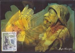 Monaco - Carte Maximum - Prince Albert 1er - Cartes-Maximum (CM)