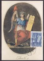 Monaco - Carte Maximum - La Liberté - Cartes-Maximum (CM)