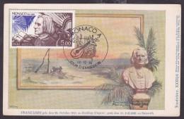 Monaco - Carte Maximum - Franz Liszt - Cartes-Maximum (CM)