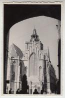 Poperinge, fotokaart, foto (op fotopapier Gevaert), St Bertinuskerk, St Bertens kerk (pk22209)