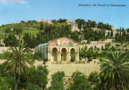 Basilica And Gardens Of Gethsemane, Old City, Jerusalem - Israel