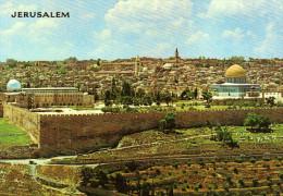 Jerusalem - Seen From Mt. Of Olives - Israel