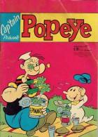 Cap'tain Popeye N°87 La Belle Olive, Drôle D'Aspirine, Qui Est Le Dindon Pousse Pas Olive, Etc. 66 Pages - Magazines Et Périodiques