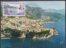 Monaco - Carte Maximum - Principauté - Cartes-Maximum (CM)