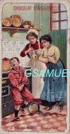 Chromo - Edition De La Chocolaterie D'Aiguebelle (Drôme). -  La Médecine Pratique - Brulures. - Albums & Catalogues