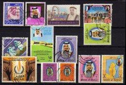 QATAR Some Used Stamps. - Qatar