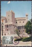 Monaco - Carte Maximum - Le Palais Du Prince - Cartes-Maximum (CM)