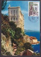 Monaco - Carte Maximum - Le Musée Océanographique - Maximum Cards