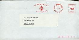 EMA Art Porcelaine,nature Vegetaux,Porcelaine Lafarge Limoge,lettre 87 Limoges-Carnot,Haute-Vienne 17.4.84 - Porzellan