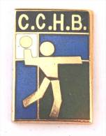 Pin's  C.C.H.B - Handballeur - E406 - Handball
