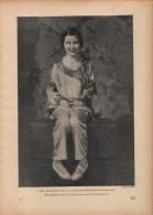 Die Gewinnerin Eines Amerikanischen Schönheitspreise-Druck, Entnommen Aus Velhagen Und Klasings- Monatsheften/ 1924 - Zeitungen & Zeitschriften