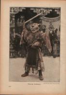 Tibetischer Teufelstänzer - Druck, Entnommen Aus Velhagen Und Klasings- Monatsheften/ 1924 - Zeitungen & Zeitschriften
