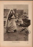 Marokkanische Kinderfrau - Druck, Entnommen Aus Velhagen Und Klasings- Monatsheften/ 1924 - Zeitungen & Zeitschriften