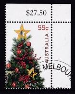 Australia 2011 Christmas 55c Tree CTO - 2010-... Elizabeth II