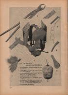 Allerhand Kuriositäten (Foltergeräte) - Druck, Entnommen Aus Velhagen Und Klasings- Monatsheften/ 1924 - Zeitungen & Zeitschriften