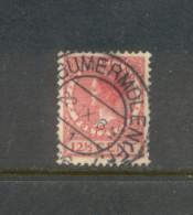 Nvph 184 Met Kortebalk Beetgummermolen 1 - Periode 1891-1948 (Wilhelmina)