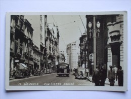 BRAZIL SAO PAULO RUA LIBERO BADARO 1940 - São Paulo