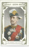 CHROMOS GUERIN-BOUTRON - LIVRE D'OR CELEBRITES - 186 - GENERAL DALSTEIN, COMMANDANT LE 6ème CORPS - Guerin Boutron