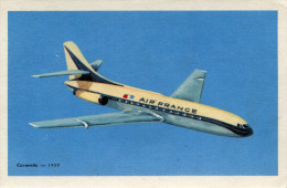 AVIATION(AIR FRANCE) CARAVELLE - 1946-....: Ere Moderne