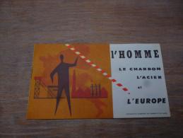 CB7 Brochure Bruxelles Expo 58 Dépliant L'homme Le Charbon L'acier Et L'Europe - Cultural