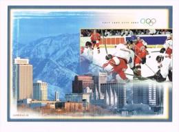 Salt Lake City 2002 /Schweizer Eishockey An Olympischen Winterspielen/Hockey Sur Glace/Hockey Sul Ghiaccio - Hockey - Minors (Ligue Mineure)