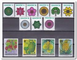 Singapore 1973, Postfris MNH, Flowers, Fruit - Singapore (1959-...)