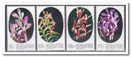 Singapore 1976, Postfris MNH, Flowers, Orchids - Singapore (1959-...)