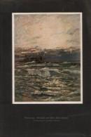 Brandung/ Gemälde Von Prof Karl Heffner-Druck, Entnommen Aus Velhagen Und Klasings- Monatsheften/ - Zeitungen & Zeitschriften