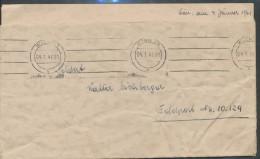 Feldpostbrief Mit Inhaltsschreiben  Gefangen Post - Deutschland