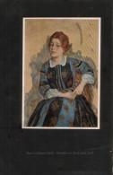 Dame In Blauem Kleid - Druck, Entnommen Aus Velhagen Und Klasings- Monatsheften/ - Zeitungen & Zeitschriften