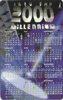 Singapore - Millennium Calendar 2000, 224SIGB2K, 1999, Used - Singapore