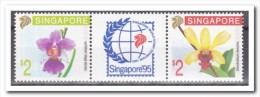 Singapore 1991, Postfris MNH, Flowers, Orchids - Singapore (1959-...)