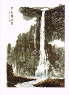 Monde Chinois/China/Waterfall Of Black Dragon Pool/Mount Tai /Unesco - Chine