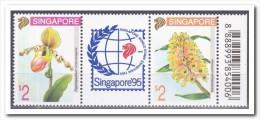 Singapore 1994, Postfris MNH, Flowers, Orchids - Singapore (1959-...)