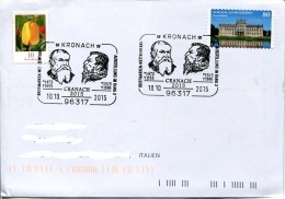 1477, Germany, Special Postmark 2015  Cranach  Exhibition - Andere