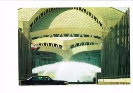 Saudi Arabia Picture Postcard  Royal Pavilion At King Khaled International Airport In Riyadh - Fountains Drapeau Voiture - Arabie Saoudite