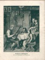 Großvaters Lieblingslied - Druck, Entnommen Aus Velhagen Und Klasings- Monatsheften/ 1909 - Zeitungen & Zeitschriften